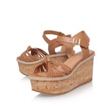 Carvela Katrina mid wedge heel sandals
