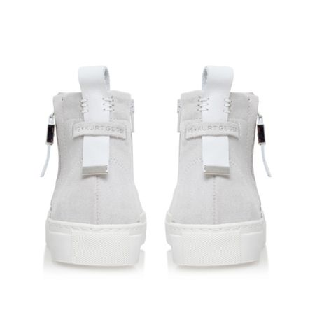 KG Leicester flat lace up trainers
