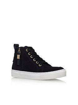 Leicester flat hi-top sneakers