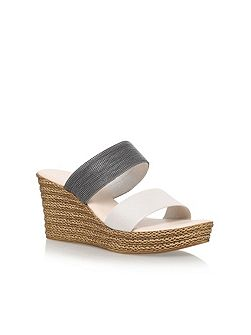 Sybil high wedge heel sandals