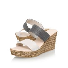 Carvela Comfort Sybil high wedge heel sandals
