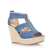 Michael Kors Damita wedge high wedge heel sandals