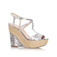 Michael Kors Bethany wedge high heel wedge sandals