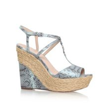 Michael Kors Bethany high wedge heel sandals