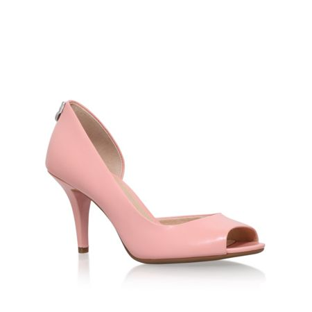 Michael Kors Hamilton open toe court shoes