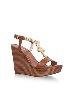 Holly high wedge heel sandals