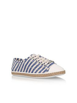 Kirsty flat lace up espadrille sneakers