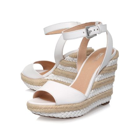 Michael Kors Kyla high wedge heel sandals