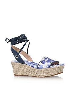 Margie flatform high heel wedge sandals