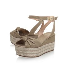 Michael Kors Maxwell mid wedge heel sandals