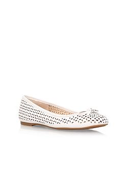 Olivia flat slip on pumps