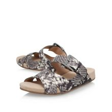 Michael Kors Sawyer slide flat sandals