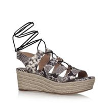Michael Kors Sofia flatform wedge sandals
