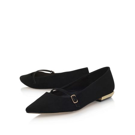 Carvela Metal flat slip on loafers