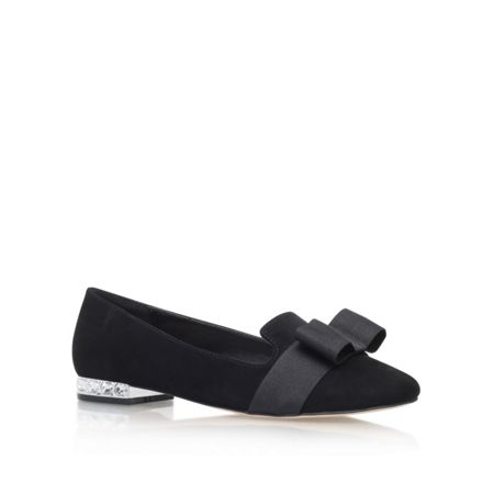 Carvela Molten flat slip on pumps