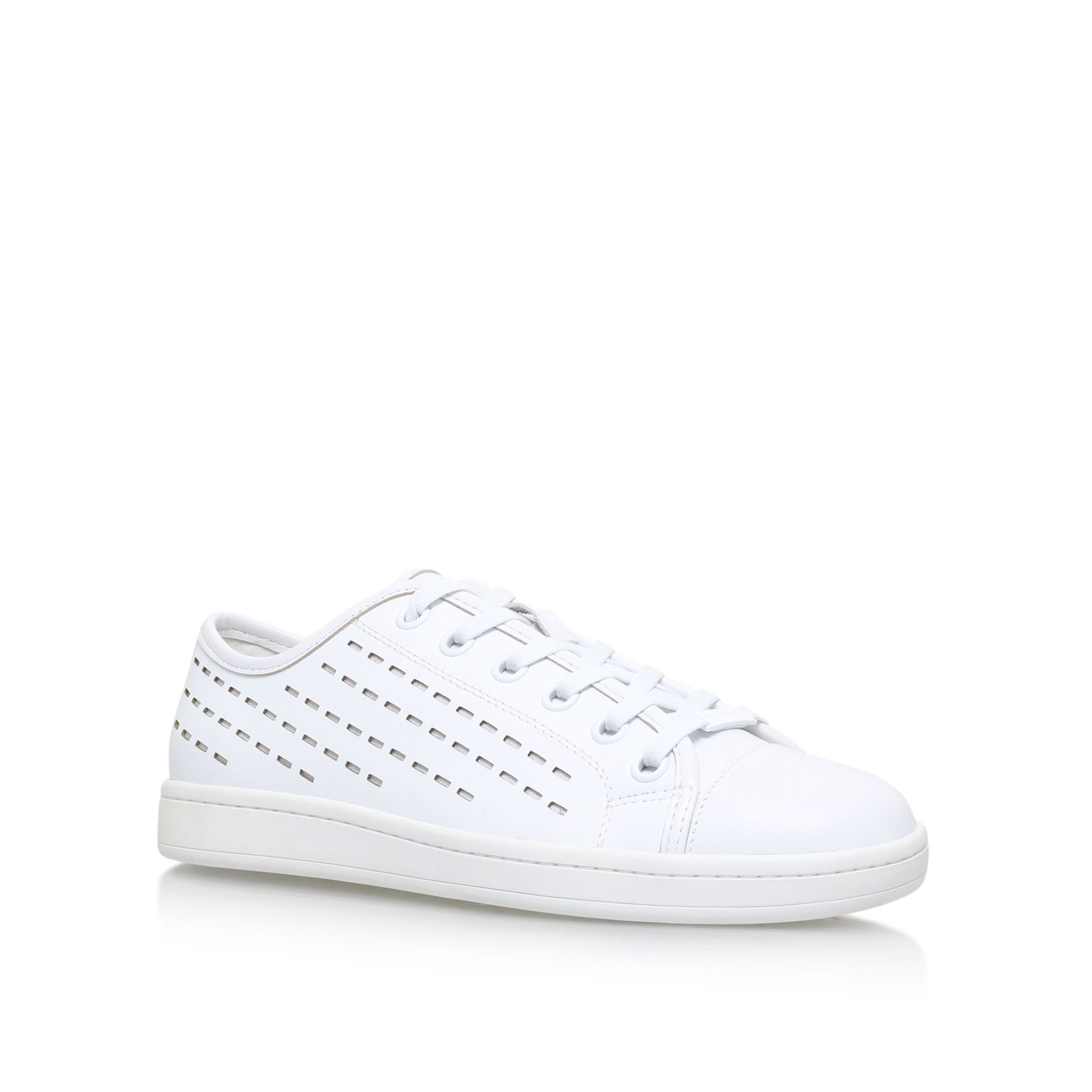 DKNY Baylee flat lace up sneakers White