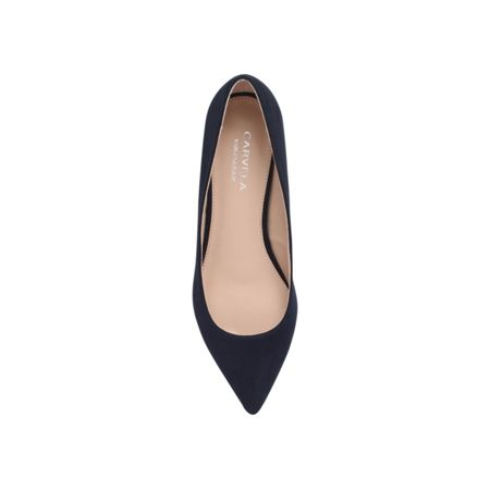 Carvela Knock mid heel court shoes