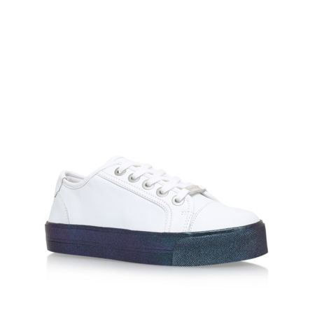 Carvela Largesse flat lace up sneakers