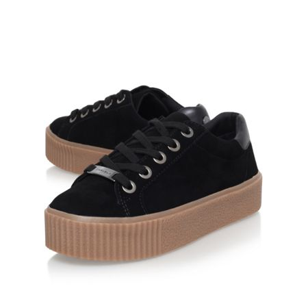 Carvela Lindon flat lace up sneakers