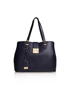 Mandy lock slouch tote bag