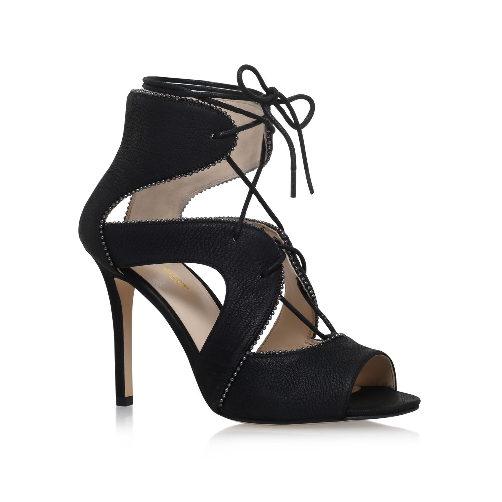 Nine West Nine West Ulimah high heel sandals, Black