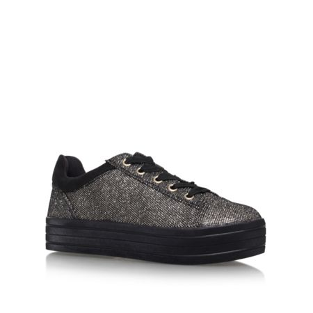 Carvela Lucas flat lace up sneakers