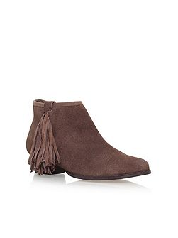 Sassy flat ankle boots