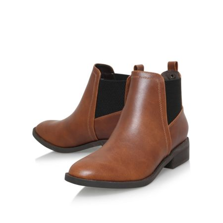 Miss KG Tion flat ankle boots