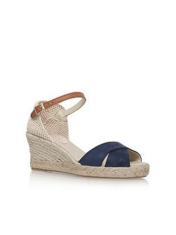 Scalt high heel wedge sandals