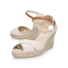 Carvela Scalt high heel wedge sandals