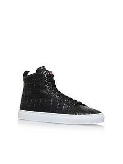 Bernie Lace Up High Top Sneakers
