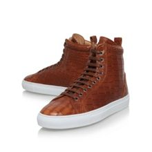 Kurt Geiger Bernie Lace Up High Top Sneakers