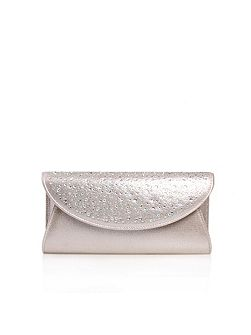 Delilah jewel clutch bag