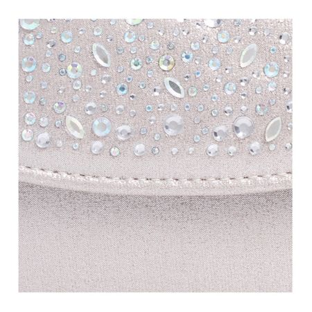 Carvela Delilah jewel clutch bag