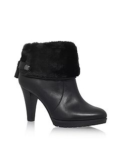 Teamy high heel ankle boots