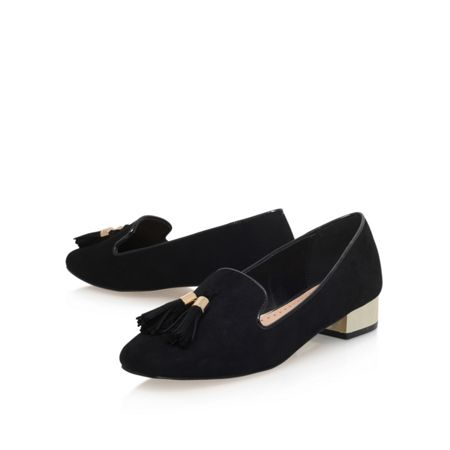 Miss KG Neville low heel slip on loafers