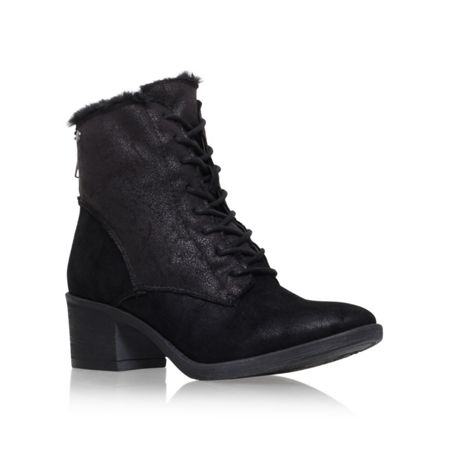 Miss KG Taite mid heel lace up boots
