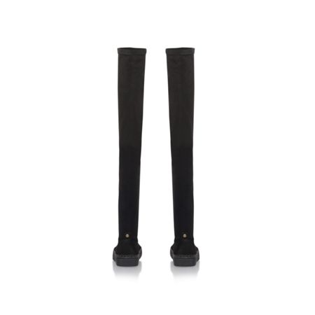 KG Woody flat zip up knee high boots