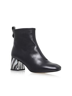 Snoopy high heel ankle boots