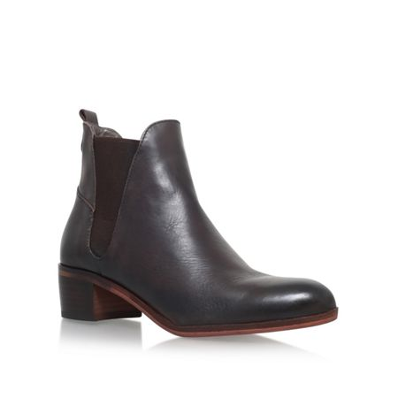 H by Hudson Compound mid block heel ankle boots