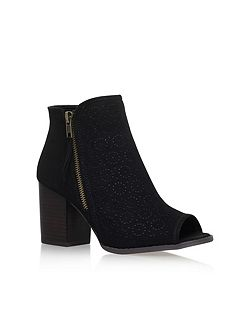 Sasha high heel ankle boots
