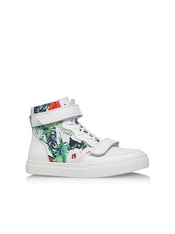 Cassey high top lace up sneaker