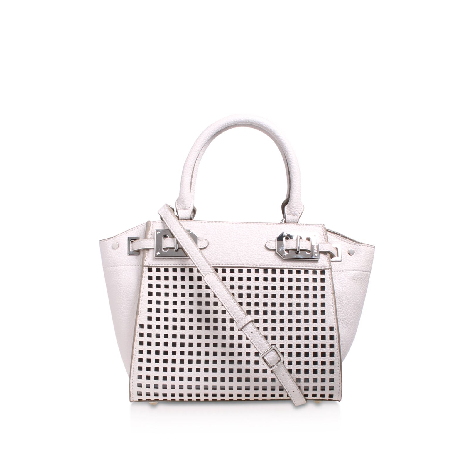 Nine West Nine West Gleam team mini satchel bag, White