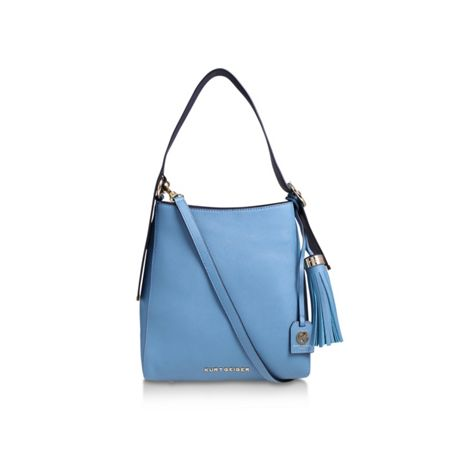 Kurt Geiger London Saffiano med penelope hobo bag