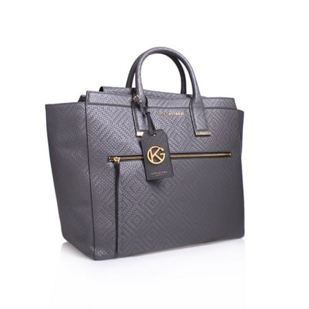 Kurt Geiger London Woven beatrice tote bag
