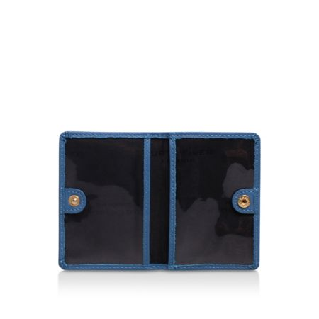 Kurt Geiger London Saffiano travel card holder