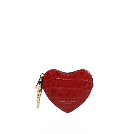 Kurt Geiger London Croc heart purse