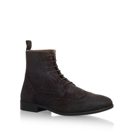 KG Howarth flat lace up boots