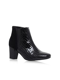 Reed high heel ankle boots