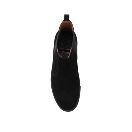 KG Bison flat slip on suede chelsea boot